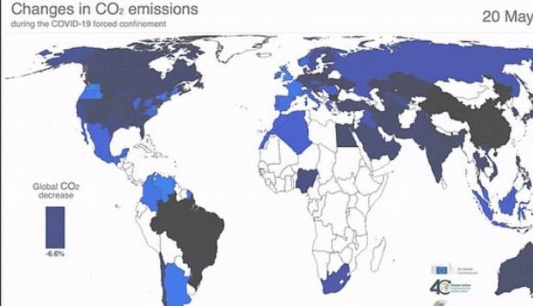 Снижение содержания углекислого газа в атмосфере Земли.