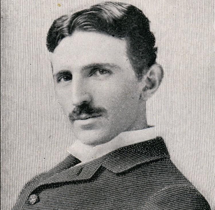 Никола Тесла в 1885 году.