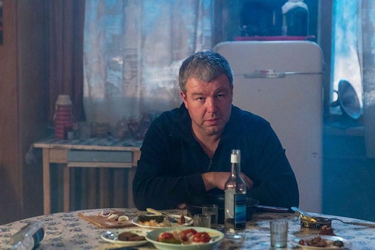 "Александр Робак в сериале ""Домашний арест"""