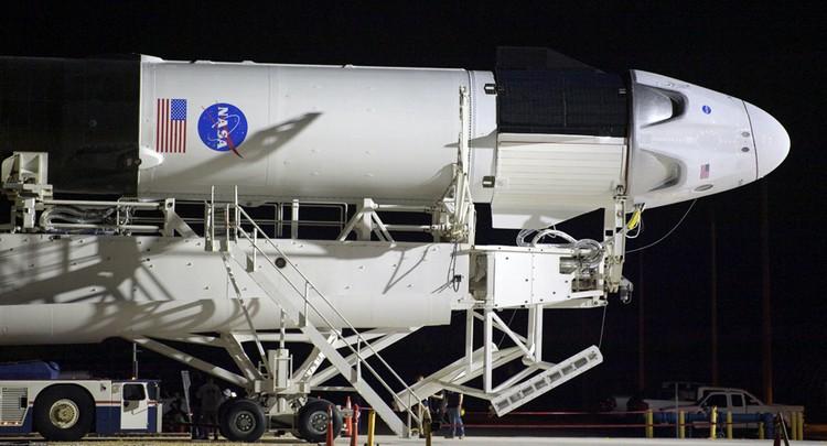 27-го мая должен состояться первый пилотируемый пуск корабля Crew Dragon компании SpaceX