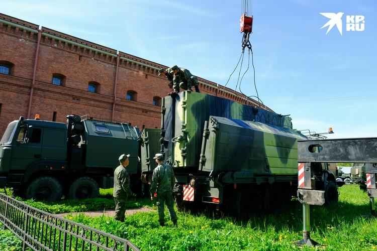 Военнослужащие специально восстановили спецтехнику инженерных войск