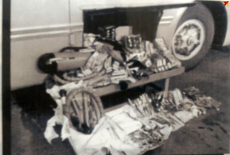Грузовик с контрабандой. Фото: из архива Брестской погрангруппы.