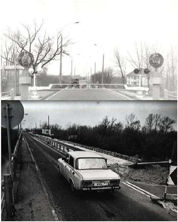 Варшавский мост в советское время. Фото: pogranec.by