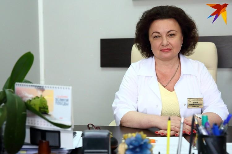 Главный врач 3-й центральной районной клинической поликлиники Октябрьского района Минска Ирина Пашуто.