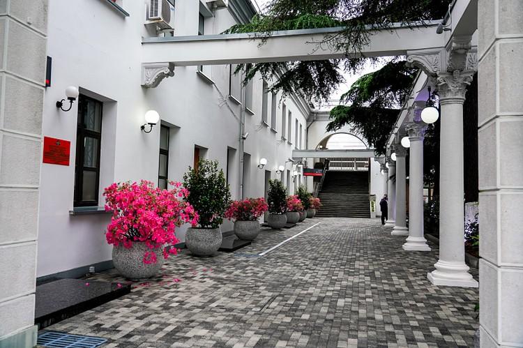 Туристов просят не покидать территорию санаториев на первоначальном этапе. Фото пресс-службы мэрии Сочи