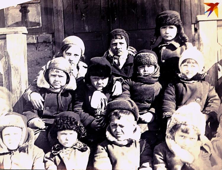 Вот они - дети войны. Фото: архив Игоря Нашатырева.