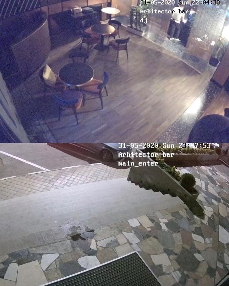 Поздно вечером 31 мая в помещении и около него никого не было.