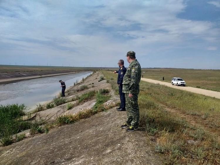 Тело девочки нашли на дне Северо-Крымского канала