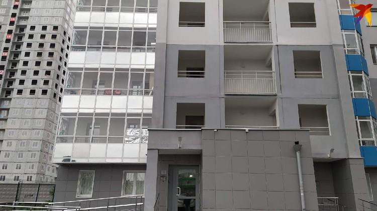 Трагедия случилась в этом доме на улице Рассветной