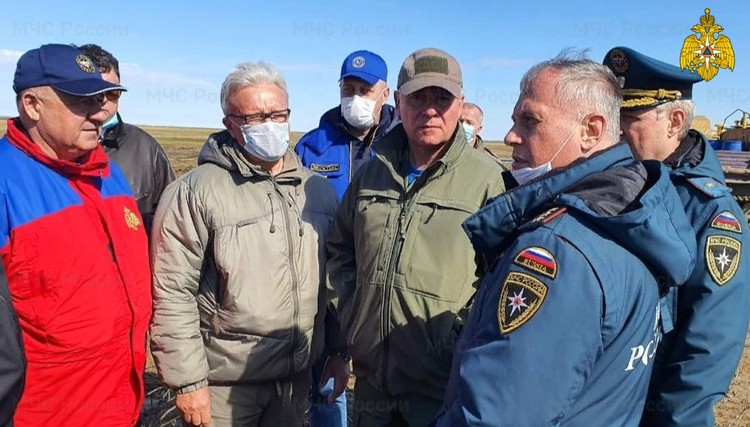 Губернатор Красноярского края Александр Усс прилетел в Норильск утром 4 июня