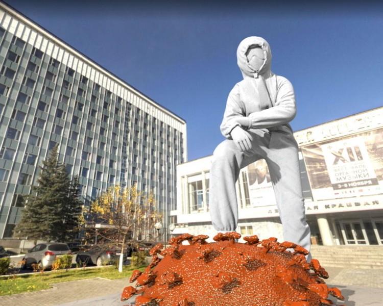 Проект памятника, вошедший в Топ-10 Фото: предоставлено организаторами конкурса