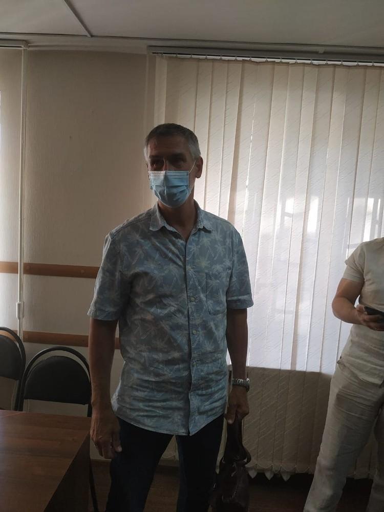 Леонид Жданов надеялся на оправдательный приговор. Фото: Волгоградский облсуд.