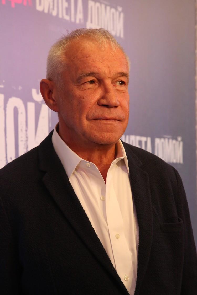 Актер Сергей Гармаш,