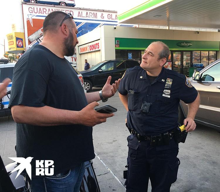 Американский полицейский с русскими корнями Игорь (Гарри) Марков