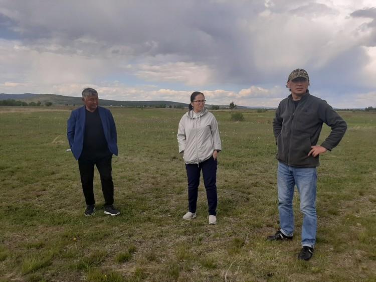 На этом месте планирую построить культурный цент. Фото: министерство культуры Забайкальского края