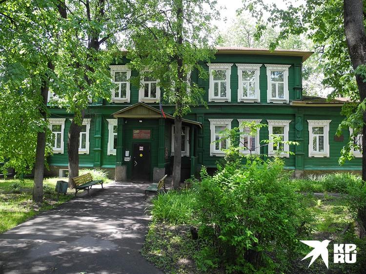 Здание музыкальной школы имени Иорданского.