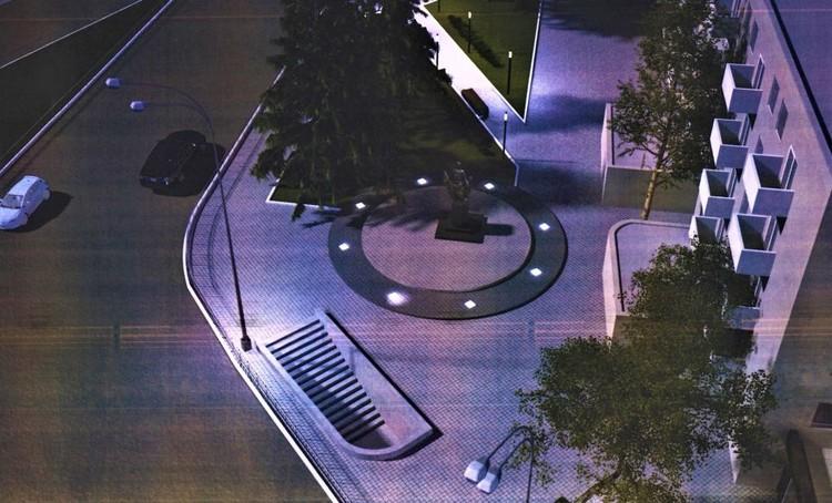 Памятник хотят разместить на пересечении переулка Пионерский и проспекта Кирова
