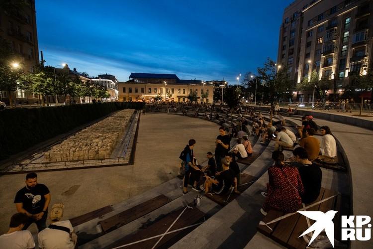 Когда открывали «Яму», планировалось проводить здесь множество культурных мероприятий.