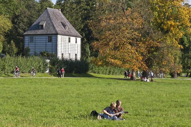 Веймарский домик Гете - популярное туристическое место