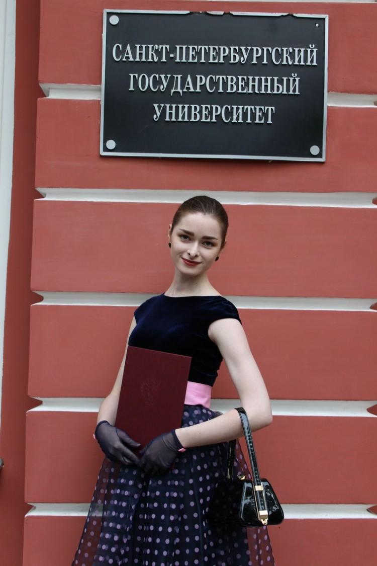 Анастасия была студенткой Соколова