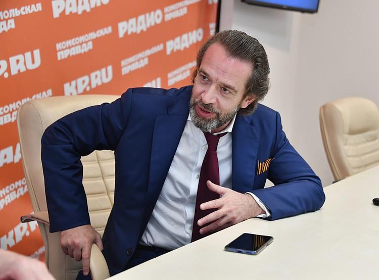 Владимир Машков в редакции «КП»