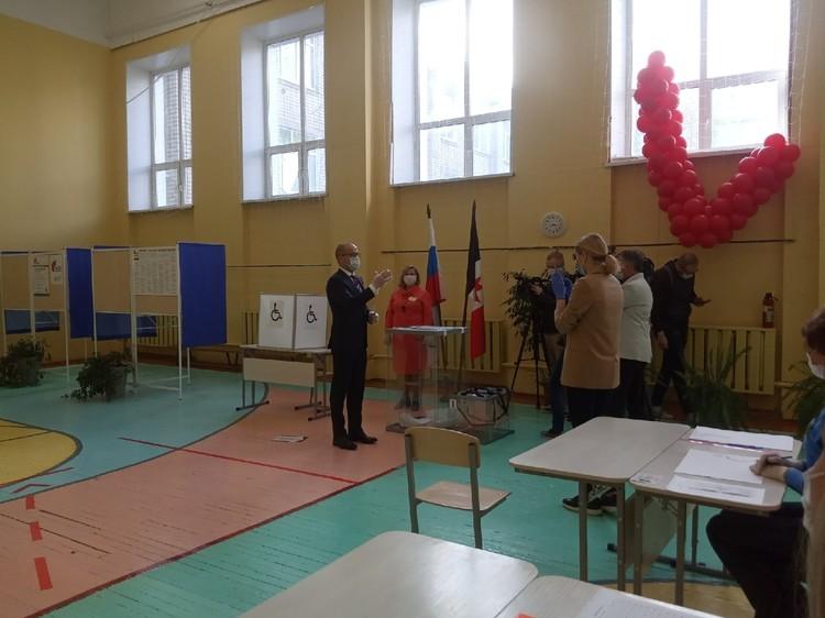 Глава Удмуртии проголосовал о поправках утром 26 июня. Фото: Михаил Красильников