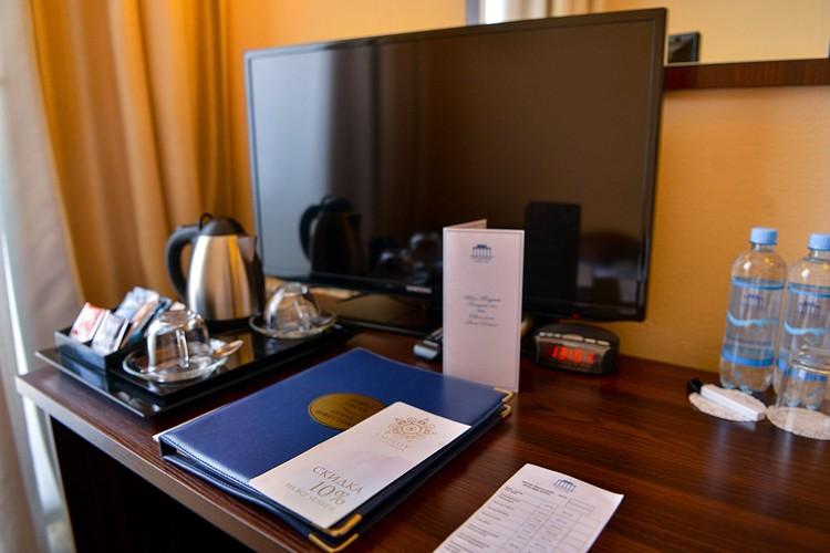 """В гостиницах можно выбрать, как номер-люкс так и стандарт Фото: группа отеля """"Севастополь"""" во ВКонтакте"""