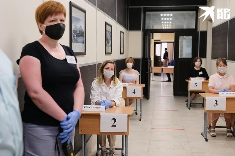Суть проведения пробного экзамена – отработать все организационные моменты и проверить исправность техники перед основным экзаменом.