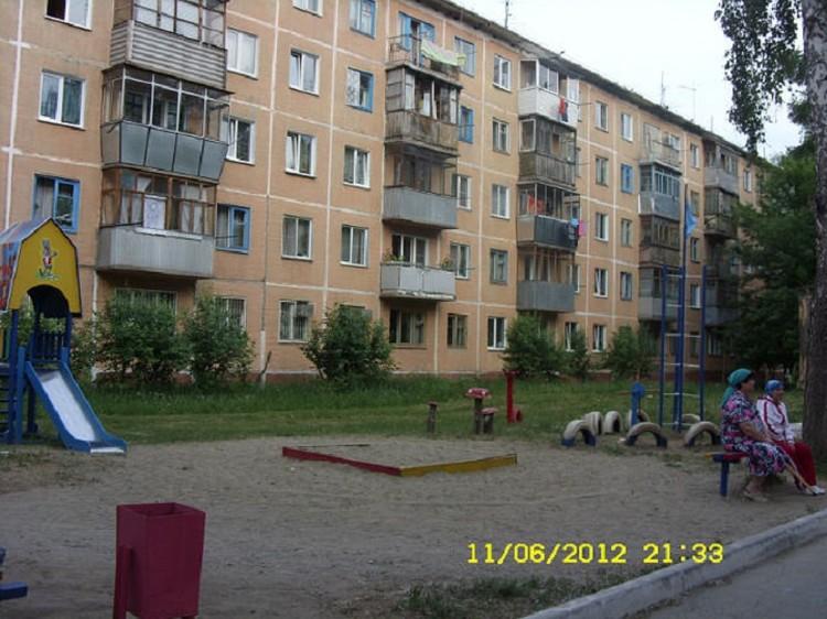 Так дворик выглядел восемь лет назад. В него было вложено немало сил. Фото: предоставлено Оксаной Минаковой