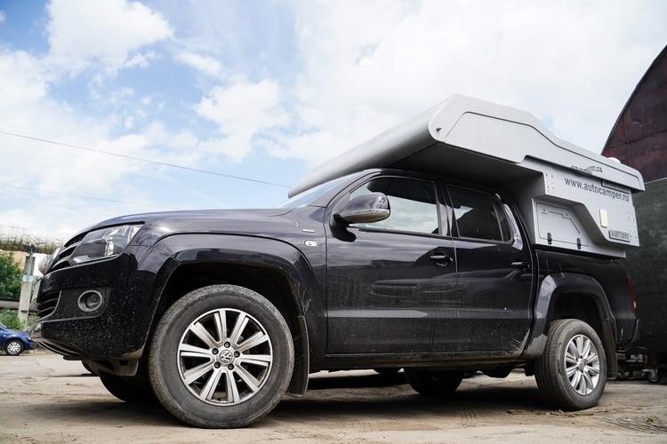 Машины с поднимающейся крышей - популярны у автопутешественников