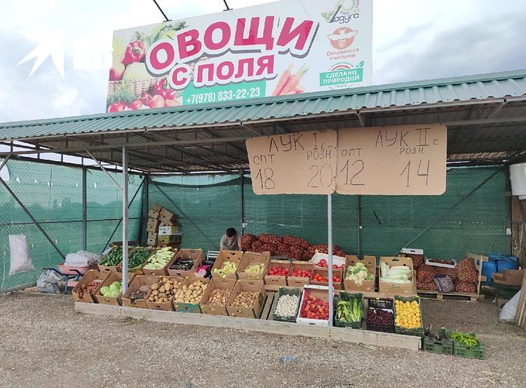 Сезонные овощи можно купить не дорого
