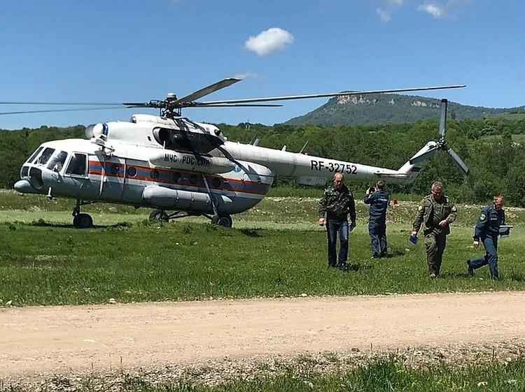 В поисках задействовали даже вертолет. Фото: instagram.com/sergejlasunov