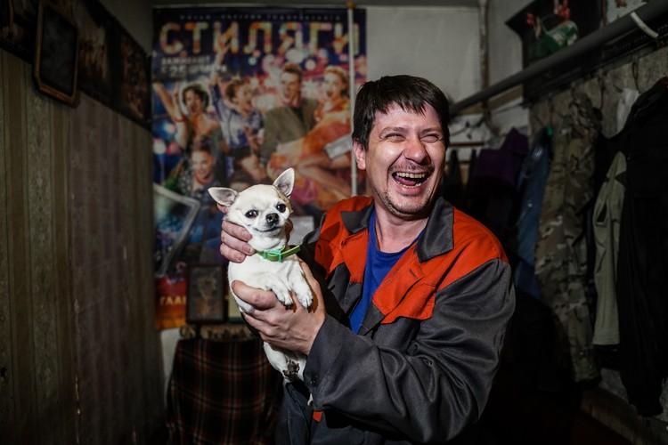 Игорь Зенкин - сварщик
