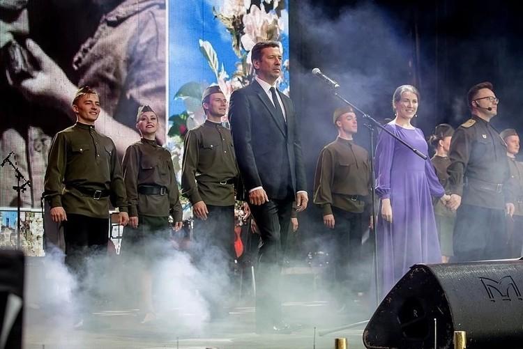 Мерзликин на челябинском концерте в честь 9 мая