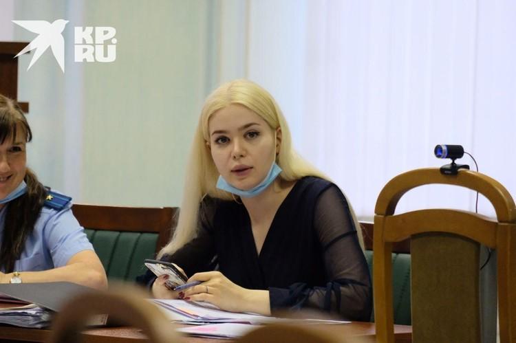 Адвокат семьи Ещенко Александра Бакшеева