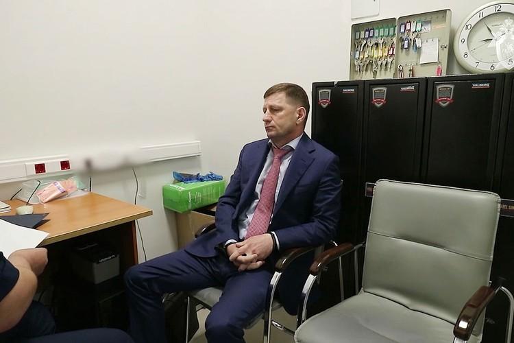 Есть целый ряд прямых подтверждений о связях господина Фургала с организованной преступностью. Фото: СК РФ/ТАСС