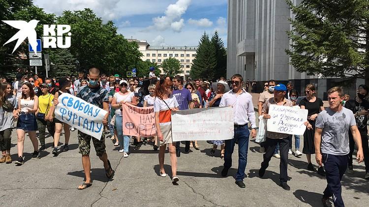 Второй день протеста в Хабаровске опять-таки никто не ожидал