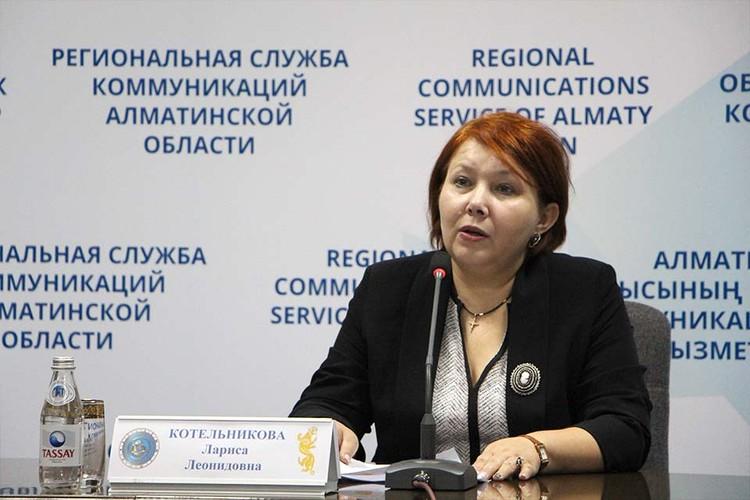 Лариса Котельникова.