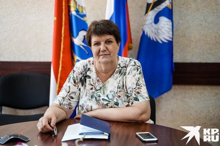 Глава Большечерниговского района Тамара Перова