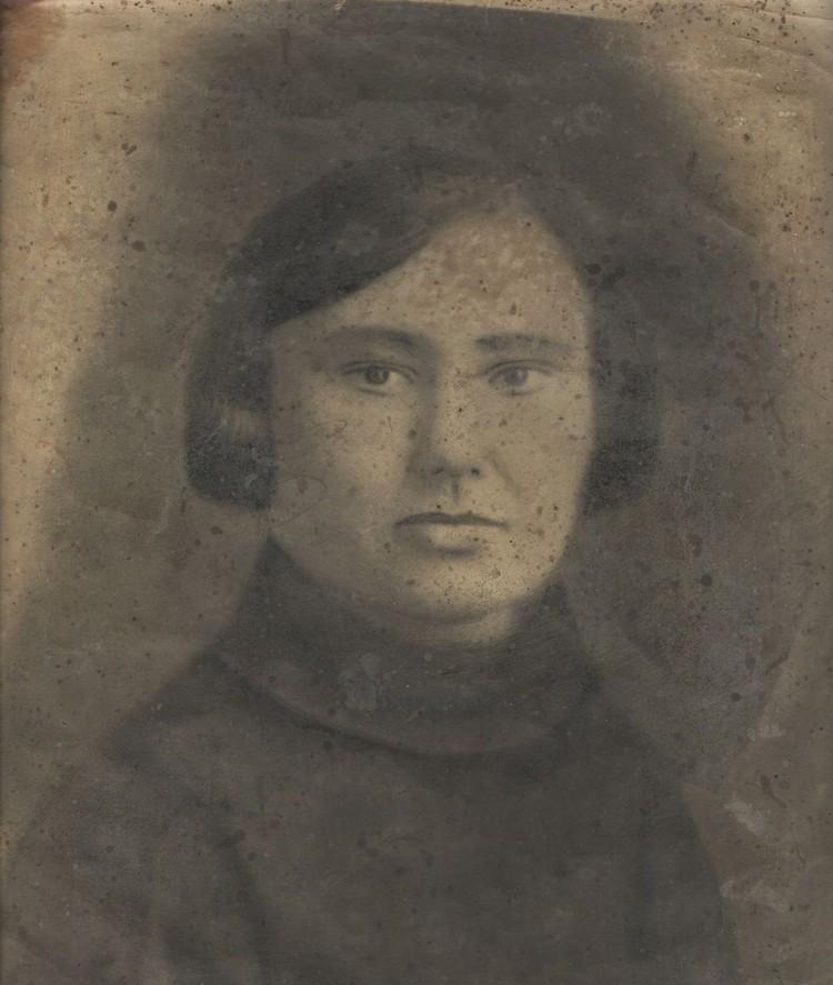 Снимок неизвестной женщины. Фото: музей «Заельцовка»