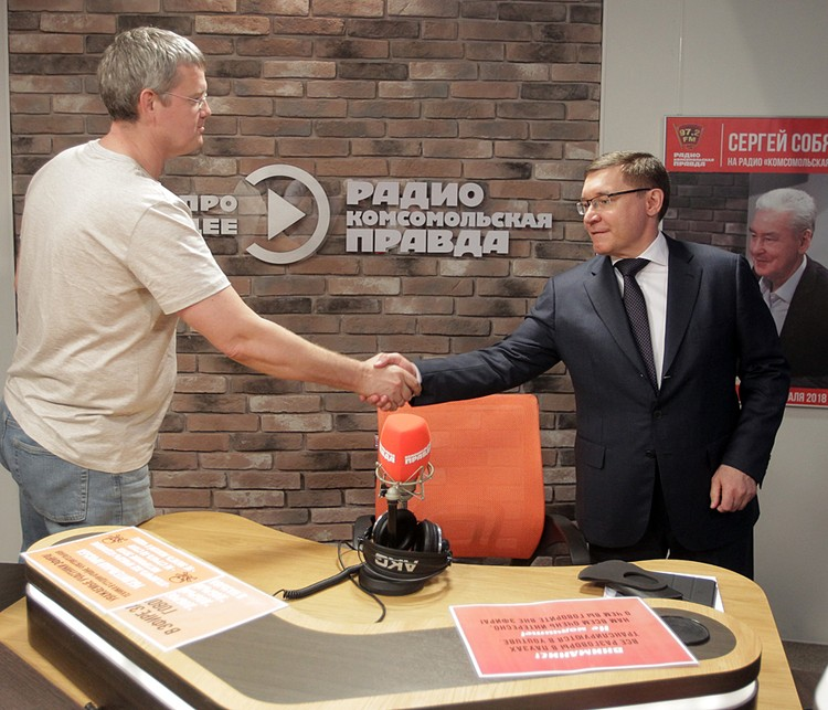 Владимир Якушев и Сергей Мардан