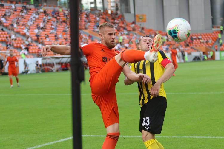 Матч проходил в Екатеринбурге. Фото: ФК «Урал»