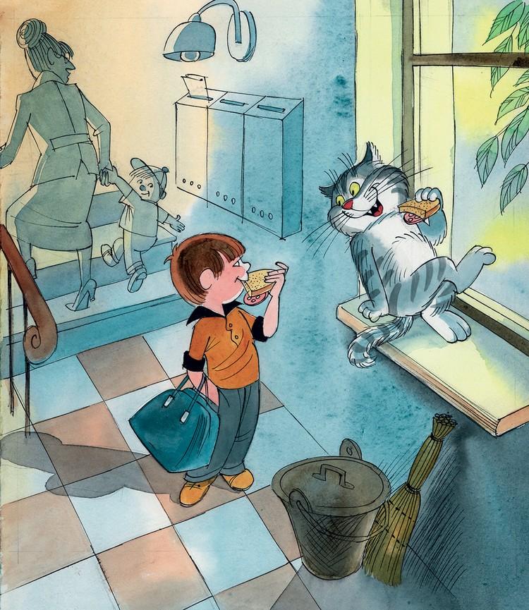 Иллюстрация Виктора Чижикова, предоставлено издательством АСТ