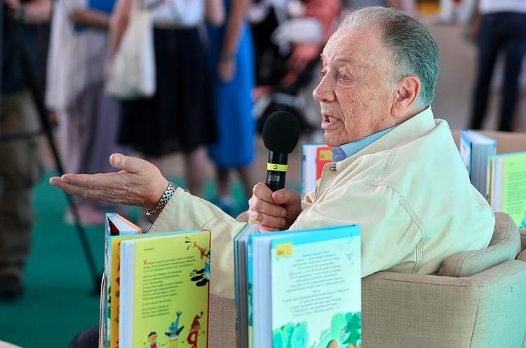 Виктор Чижиков на встрече с читателями, 2019 год. Фото предоставлено издательством АСТ