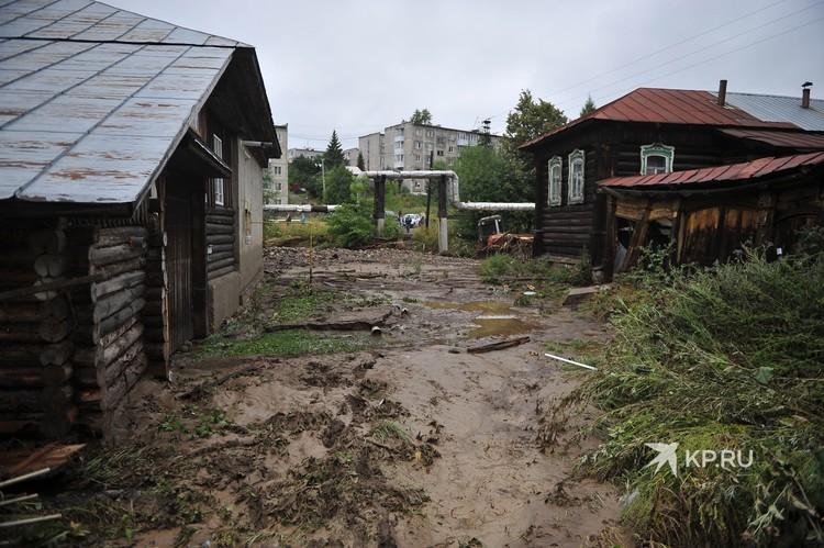 Улица Жукова после потопа