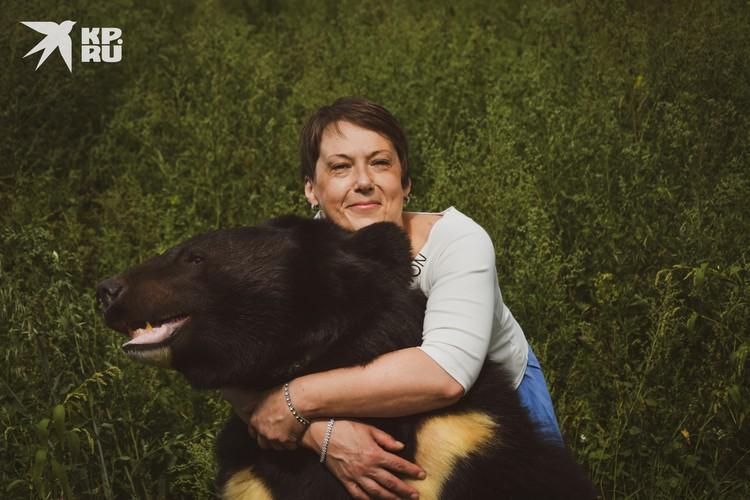 Обнять гималайского медведя — мечты сбываются!