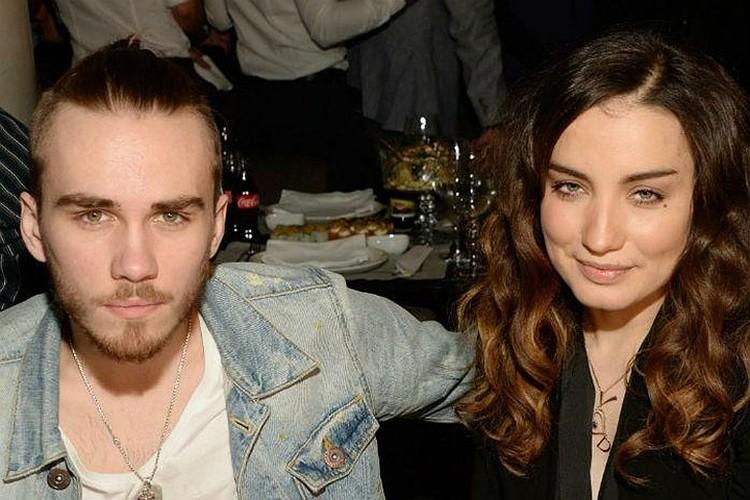 Певица с бывшим мужем Дмитрией Клейманом.