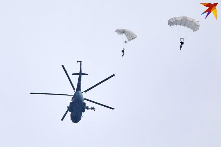 Высадка десанта в Минске.