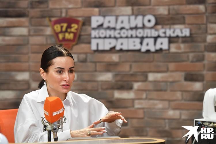 Телеведущая Тина Канделаки