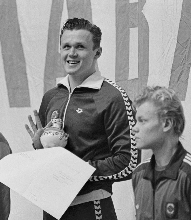 Знаменитый пловец Дмитрий Волков, призер Игр в Сеуле-1988 и Барселоне-1992. Фото: ТАСС